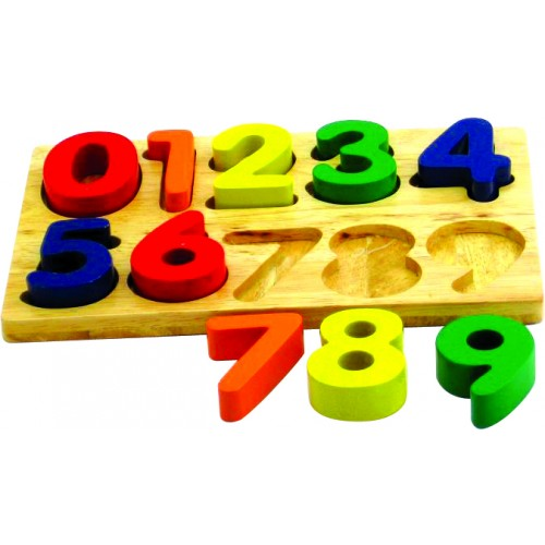 Kids Child Wooden Block Toys Alphabet Number Building Jigsaw PuzzleShape
