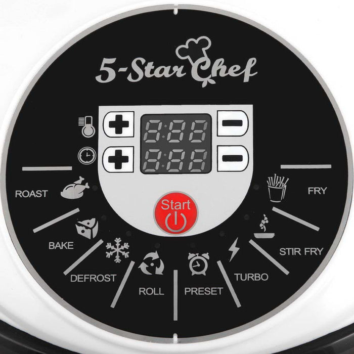 5 Star Chef 10L 8 Function Convection Oven Cooker - White