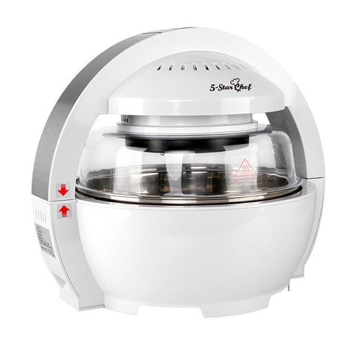 5-Star Chef Air Fryer Oven Cooker 13L  1300W Low Fat Oilless White