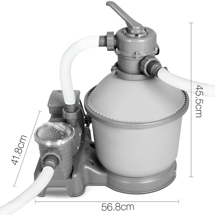 1000 GPH Sand Filter Swimming Pool Cleaning Pump