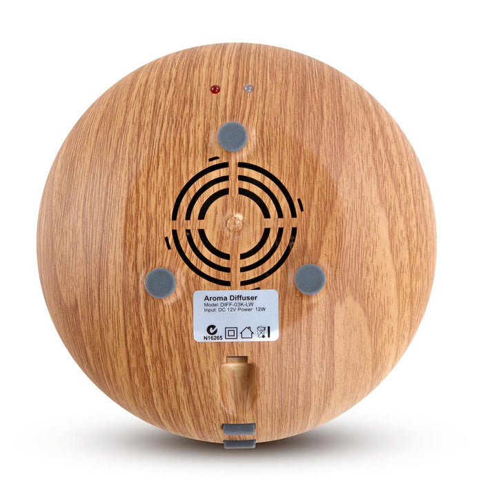 160ml 4-in-1 Aroma Diffuser - Light Wood