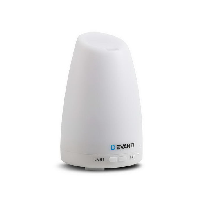 120ml 4-in-1 Aroma Diffuser LED Ultrasonic Smooth Mist Aromatherapy White