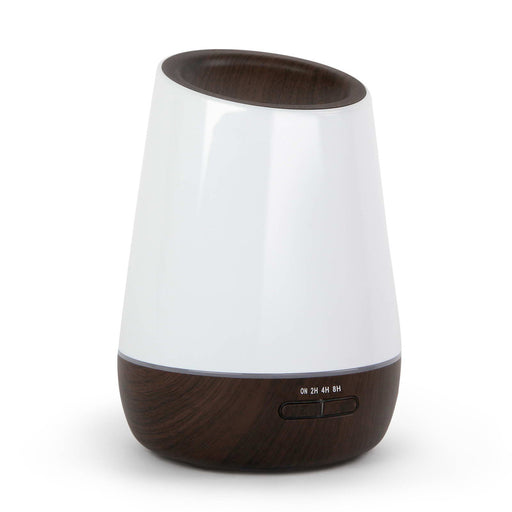500ml 4 in 1 Ultrasonic Humidifier Air Aroma Diffuser Purifier Aromatherapy - Dark Wood
