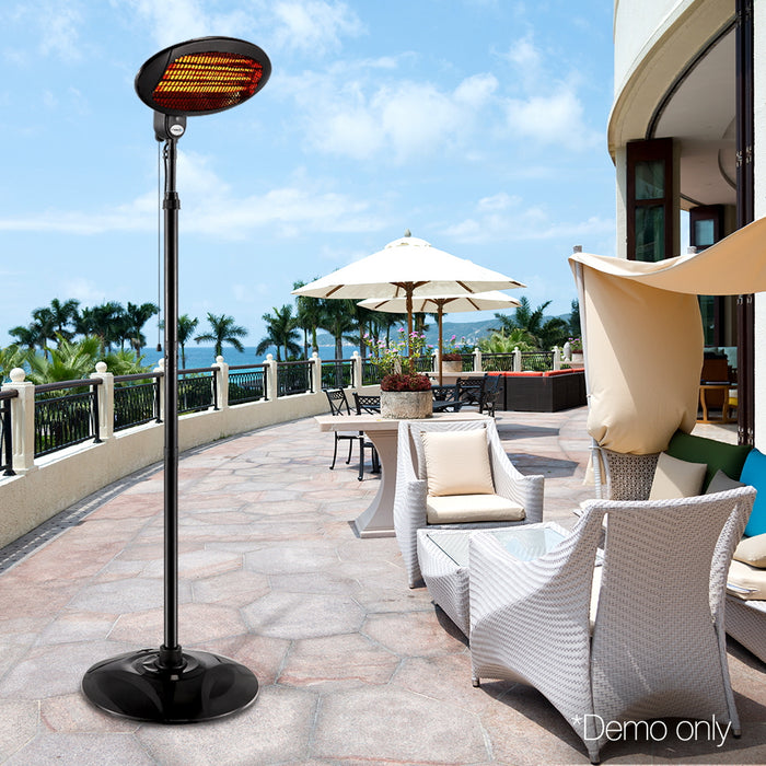 2000W Electric Portable Patio Strip Heater