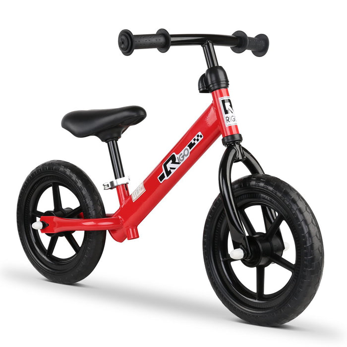 12 Inch Kids Balance Bike - Red