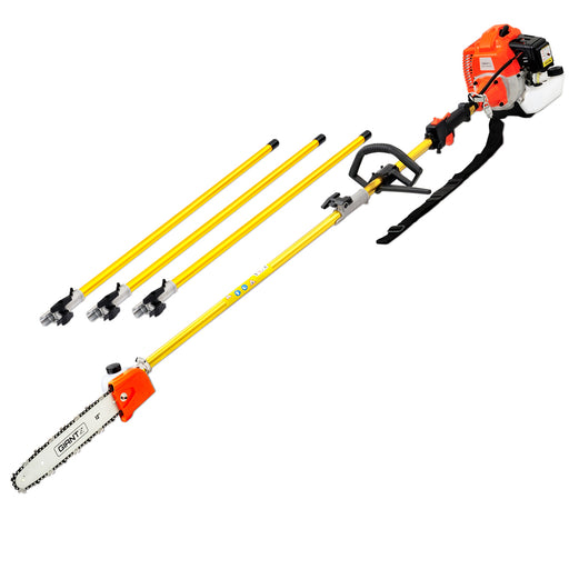 75CC 6.3m Chainsaw Brush Cutter Hedge Pruner Extension