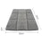 36inch Metal Collapsible Pet Cage Soft Fluff Pad Bed Mat - Black