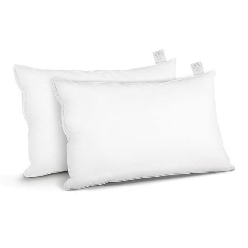 Goose Feather Down Twin Pack Pillow