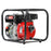 2inch High Flow Water Pump 100% Duty Cycle- Black & Red