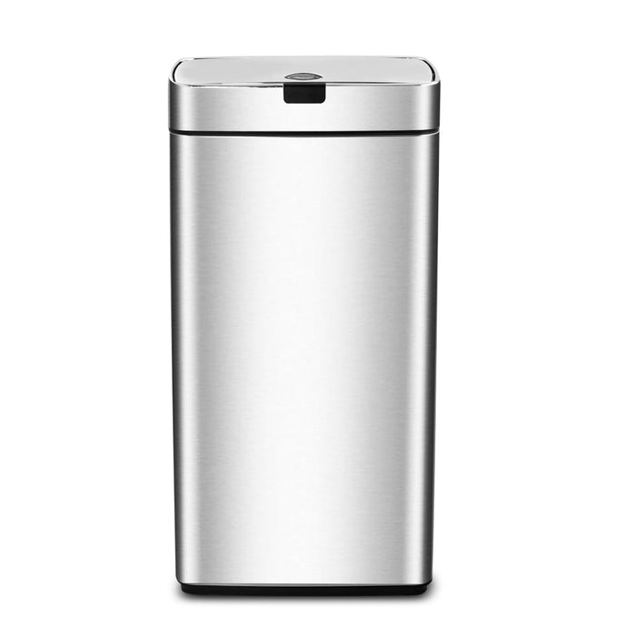 45L Stainless steel Motion Sensor Rubbish Bin Waste Trash Kitchen Office Silver