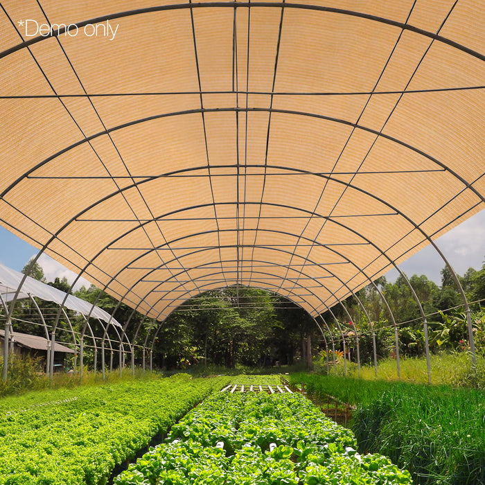 1.83 x 10m UV-stabilized Shade Sail Cloth Home&Agriculture Use - Beige