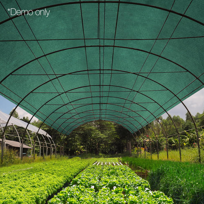 1.83 x 10m UV-stabilized Shade Sail Cloth Home&Agriculture Use - Green