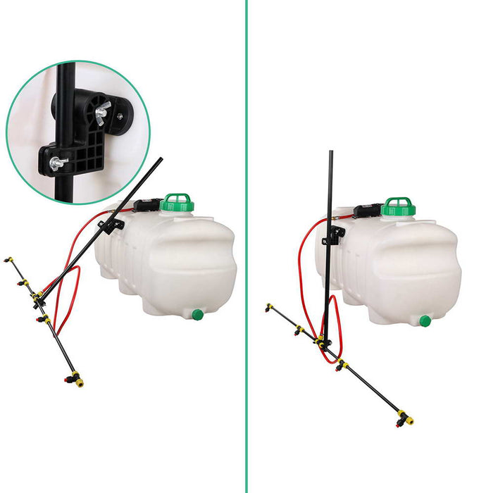 Weed Sprayer 100L Tank with Adjustable Boom Sprayer Chemical Garden