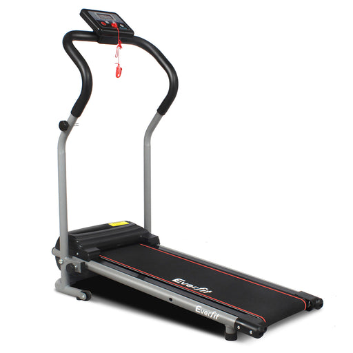 Electric Treadmill Exercise Fitness Machine Home Gym Equipment- Black