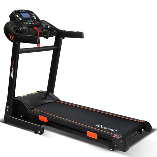 Electric Treadmill - Black