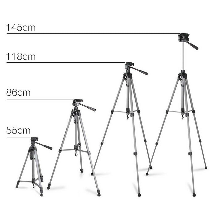1.45M Professional Tripod for Digital Camera DSLR Camcorder Video Tilt Pan
