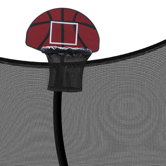 10FT Trampoline Mat with Basketball Hoop
