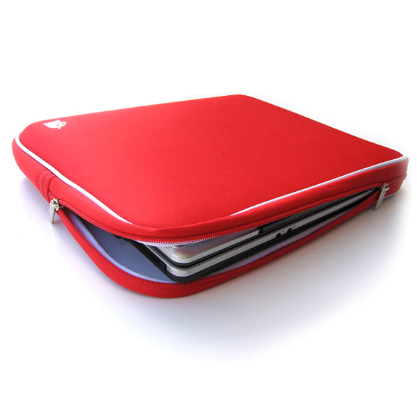 "Notebook Laptop Hand Bag Sleeve Case For 12"" 13""14"" Macbook Mac Air/Pro(Red)"