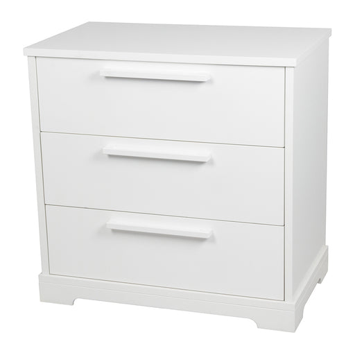 Letto 3 Drawer Chest - White