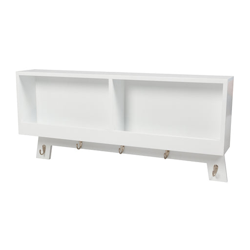 Casa Hook Wall Storage - White