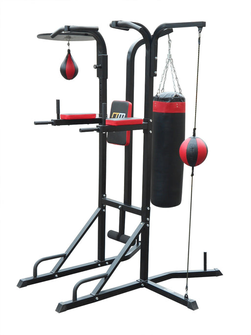 Power 3-in-1 Boxing Station Stand Gym Speed Ball Punching Bag