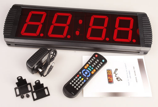 Digital Timer Interval Fitness Clock Programmable