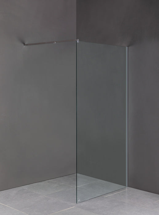 10x1200x2000mm Single Panel Frameless Safety Glass Shower Screen