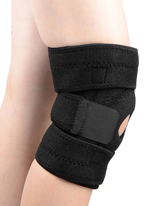 Fully Flexible Adjustable Knee Support Brace Stabilizer