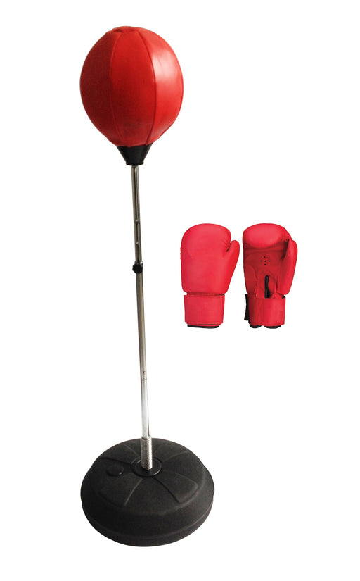 Children Punching Boxing Training Stand Bag Set Adjustable Height