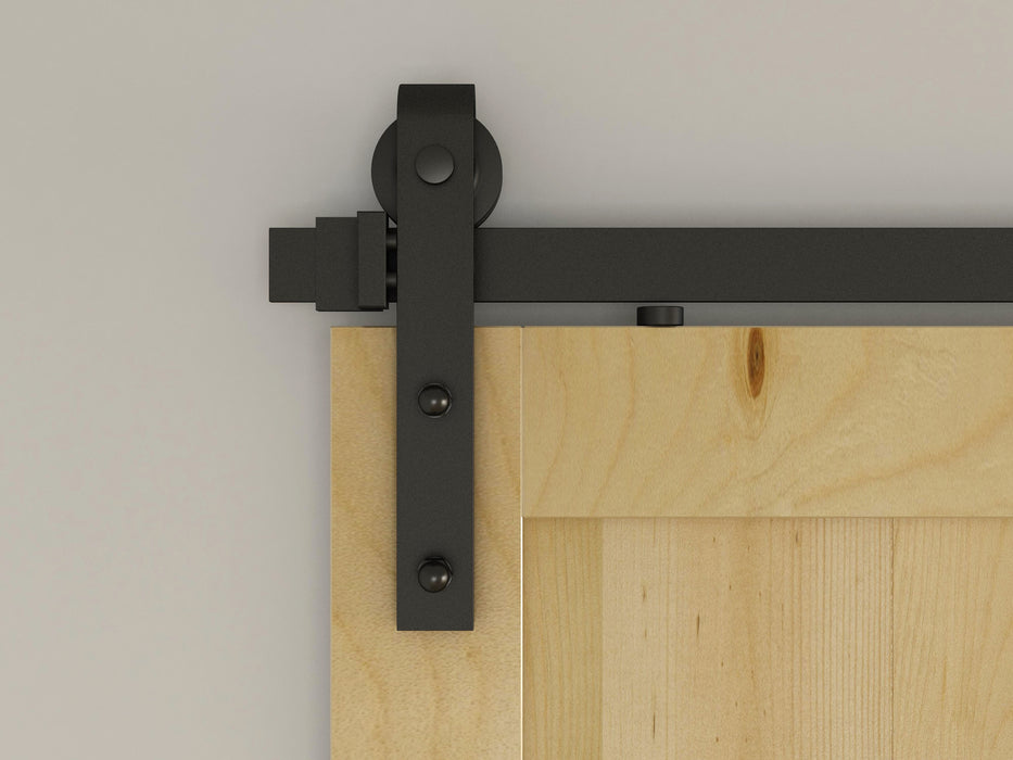 1.8m Sliding Barn Door Hardware Track Bedroom Closet