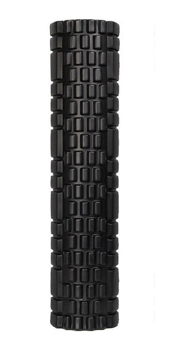 14cm x 60cm Sports Medicine EVA Foam Filled Roller Black