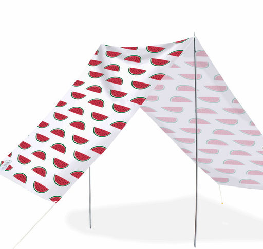 Good Vibes Summer Beach Tent Watermelon 148x370cm