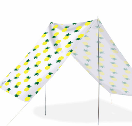 Good Vibes Summer Beach Tent Pineapple 148x370cm