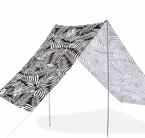 Good Vibes Summer Beach Tent Fern 148x370cm