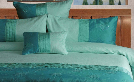 Bella Aqua European Pillowcase by Phase 2