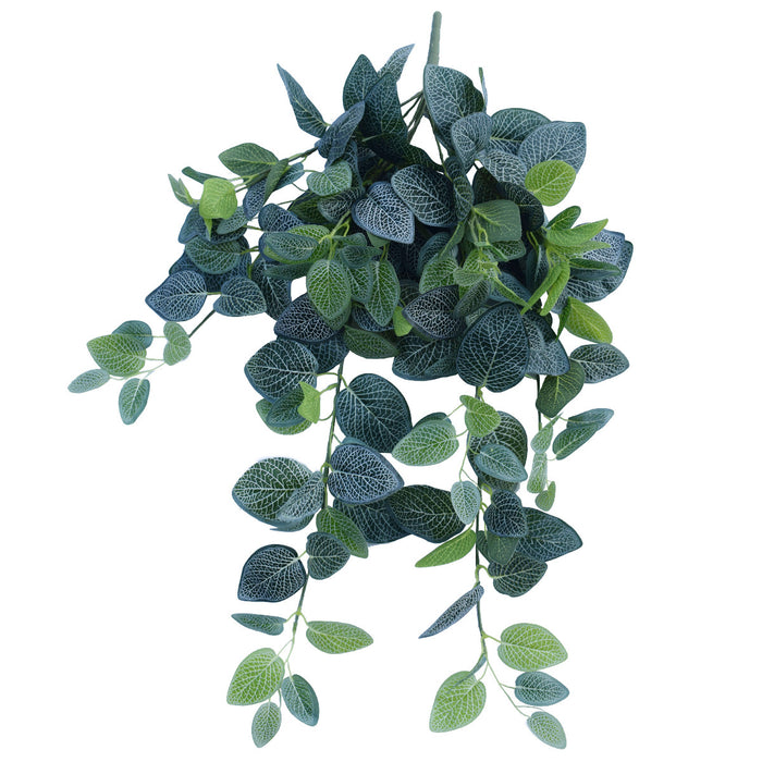 Artificial Fittonia Hanging Garland Bush 80cm
