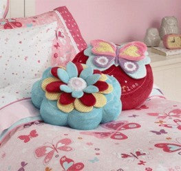 Flutterby Butterfly Cushion by Freckles