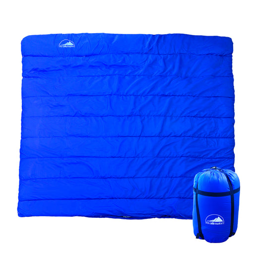 Double Outdoor Camping Sleeping Bag Hiking Thermal Tent Winter -5°C 220x160cm