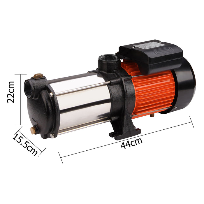 1800W  Multi Stage Water Pump High Pressure Auto Garden  Tank Irrigation