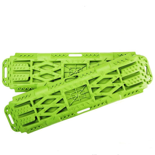 New Pair Recovery Tracks Sand Mud Snow Green Tracks/Trax 4X4 ATV CAR Offroad 4WD