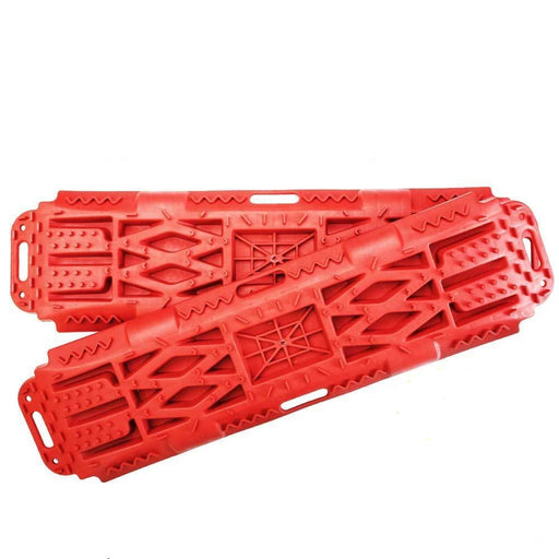 New Pair Recovery Tracks Sand Mud Snow Red Tracks/Trax 4X4 ATV CAR Offroad 4WD