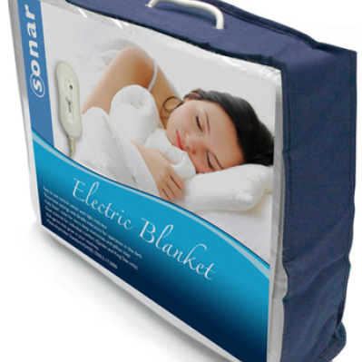 Sonar Electric Single Blanket by Bambury