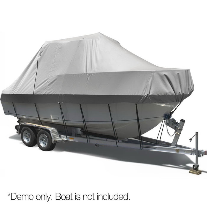 23 - 25ft Waterproof UV-resistant Mildew Boat Cover Protect