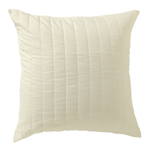 Renata Vivid Coordinates Cream European Pillowcase by Bianca