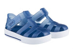 Igor Star transparent navy jelly sandal