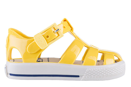 64a13d369547 Igor Tenis yellow - Jelly sandal - 100% Made in Spain - Shop now ...