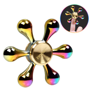 Fidget Spinner, Innoo Tech Hand Spinner, Drop-shaped Colorful Fidger Spinner, Zinc Alloy, Spin 3-5 Minutes, 10 Bead Speed Steel Bearing, Anxiety Relief Toys