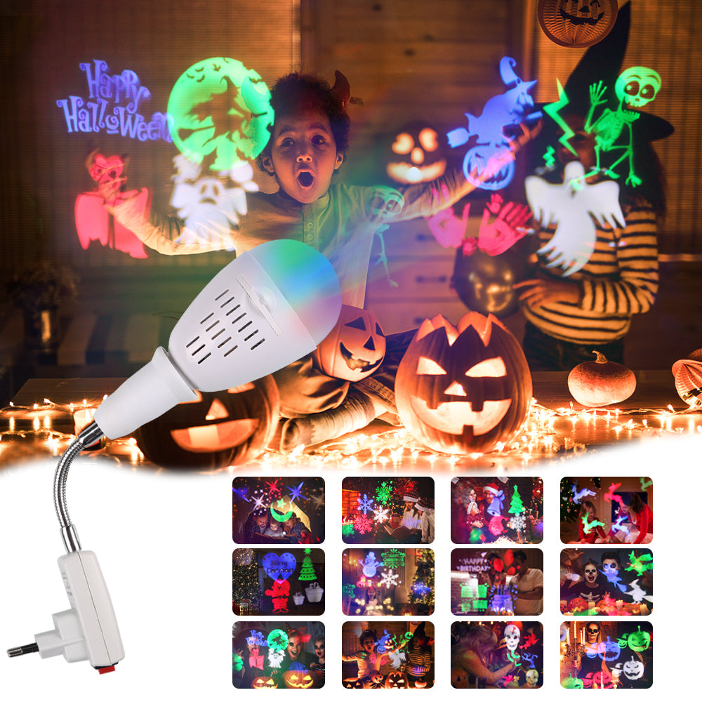 Christmas Projector Lights Outdoor, Garden Light Pattern Light for different theme |  Waterproof for Christmas, Holiday, Party Wedding Decoration