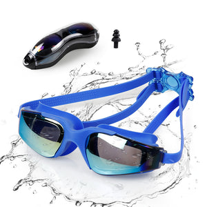 Innoo Tech Swimming Goggles Girls, Swim Goggles for Kids Children Teenages Boys Glasses | No Leaking Anti Fog UV Protection with Protection Case