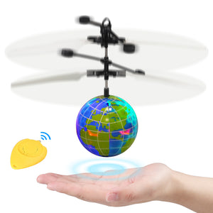 RC Flying Ball Boys Toys - Flying Toys Gifts for Boy Remote Control| with Flashing LED Light Infrared Sensing Induction, Unusual Gifts for Girls, Kids, Teenage on Birthday Christmas